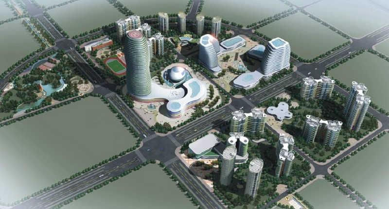 乌鲁木齐高新区北区cbd修建性详细规划